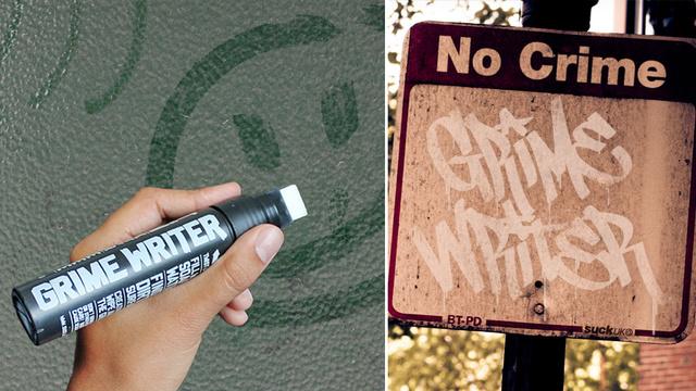 Grime Writer Reverse Graffiti Pen